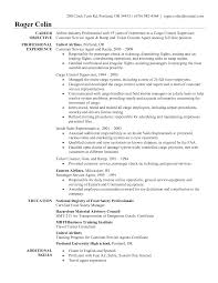 Ground Attendant Sample Resume Resume For Airlines Customer Service Sidemcicek 7