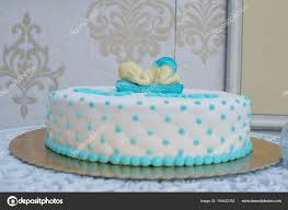 Custom Made Baby Shower Or First Birthday Cake For A Boy With