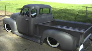 1953 CHEVY TRUCK LAYIN' FRAME - YouTube