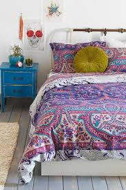 hipster bedroom on duvet covers magical thinking and string lights