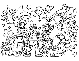 Endorsed Pokeman Coloring Pages To Color Valid 21843