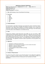 Proposal Sample Doc template Development Proposal Template 2