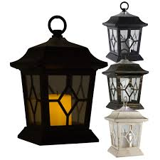 outdoor candles lanterns and lighting. LED Solar Powered Victorian Candle Lantern Lamp Light Garden Mood Eco Friendly EBay Outdoor Candles Lanterns And Lighting