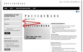 Pottery Barn Credit Card Login Www D Comenity Net Potterybarn