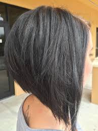 Edgy Bob Gray Hair účesy Bob Krátké Vlasy Et Vlasy