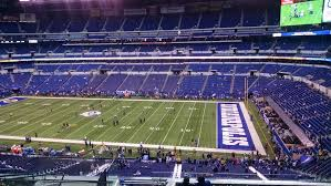 Colts Seating Chart Lucas Oil Stadium Section 436 Indianapolis Colts