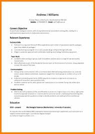 10 Resume Samples Skills Activo Holidays