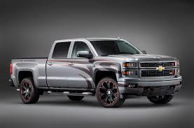 SEMA: Chevrolet show Truck Lineup - The Fast Lane Truck