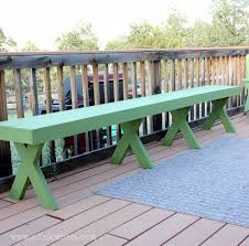 picnic and bbq style long bench