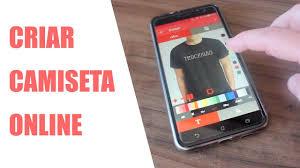 Design Camisetas Programa Criar Camisetas Online Com Aplicativo Para Celular