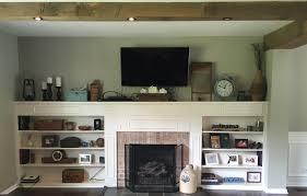 Fireplace Built Ins Living Room Built Ins Plans Progress 12 Oaks