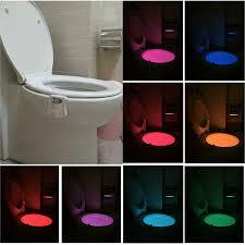 Ailun Motion Activated Led Light Bathroom Toilet Night Light 2 Pack Motion Activated Led Color Changing
