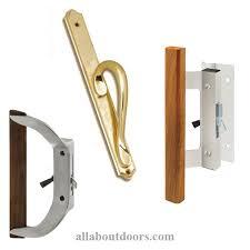 sliding glass patio door handles