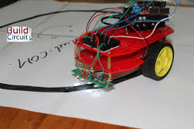easy steps for making a line following robot using infrared led easy steps for making a line following robot using infrared led photodiode ardumoto and arduino build circuit