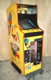 Ms Pacman Cabinet Namco 25th Anniversary Pac Man Ms Pac Man Galaga Multicade