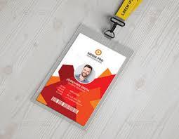 10 Free Employee Id Card Design Templates Mockups