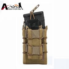 Magazine Belt Holder Emerson Military Molle Belt Modular RiflePistol Pouch Bag Airsoft 99