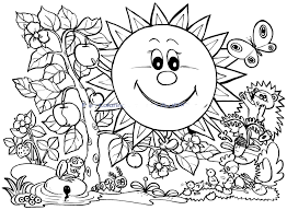 Spring Color Sheets For Kindergartenll Duilawyerlosangeles Free Christmas Coloring Pages To Print And ColorllllllL