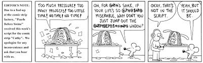 Cathy comic strip husband