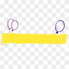 Blank Birthday Banner Free Blank Banner Png Images Blank Banner Transparent