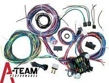 universal wiring harness 100% brand new 20 circuit wiring harness chevy mopar ford jeep hotrods universal