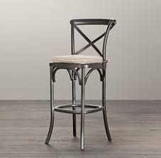 metal madeleine stool bar u0026 counter stools restoration hardware restoration hardware bar stools a28