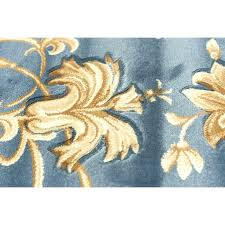 blue gold rug amazing area in