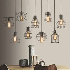 next cage light metal lamp cage rustic light pendant blue industrial pendant light rustic crystal chandelier