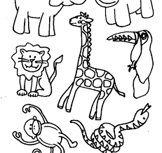 Spring Animals Coloring Pages Spring Animal Coloring Pages Spring