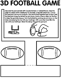 Small Picture Get the kids pumped for the big game this year with this fun 3D