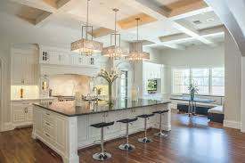 1 modern chandelier in kitchen 9