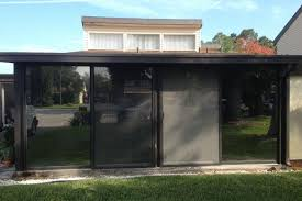 sliding doors tinted by suntamers window tinting in florida