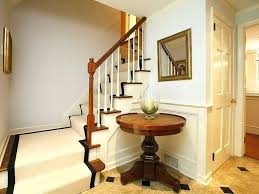 round foyer table ideas diy
