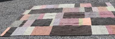 details about abc carpet home large wool color block large area rug 12 5 x 10