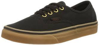 vans shoes for men. amazon.com | vans authentic black rubber shoes men\u0027s sneakers 0tsvbxh skateboarding for men