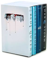 red queen 4 book hardcover box set enlarge book cover