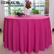 round table cloth covers free hot pink polyester round table cloths wedding table covers table