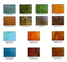 Color Charts For Slip Free Systems Epoxy Paint Church