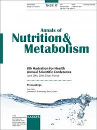 hydration for health 8th annual scientific conference evian june 2016 proceedings supplement issue annals of nutrition and metabolism 2017 vol