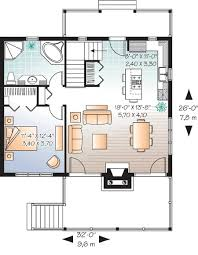 3 Bedroom 2 Bath Cabin U0026 Lodge House Plan  ALP09SB  AllplanscomVacation Home Floor Plans