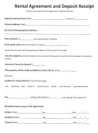 Residential Rental Agreement Fascinating Basic Residential Rental Agreement Misdesignco
