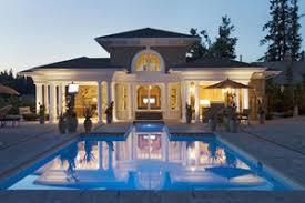 Plain Pool House Plans Photo Plan 132224 Houseplanscom U Throughout Concept Ideas