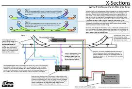 how to wire an x section using an atlas snap relay and existing how to wire an x section using an atlas snap relay and existing remote switch · ho scalemodel trainnorfolkatlassouthernlayoutwire
