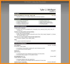 7+ Resume Model Word Format | Manager Resume