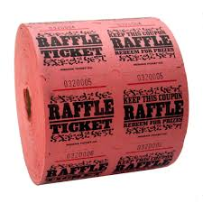 cheap raffle prizes pink raffle tickets