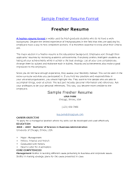 Help Making A Resume Resume Format Examples For Freshers Examples of Resumes 83