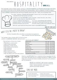 Hospitality career fact sheet   Hospitality, Career planning and ...