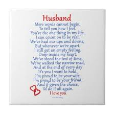 happy valentine's day to my husband poem | Husband Love Gifts from Zazzle  by nikiclix: