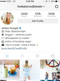 The Art Of The Instagram Bio The Balanced Blonde Enchanting Instagram Bio Ideas