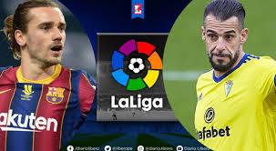 Ver aqui Barcelona vs Cadiz EN VIVO ONLINE EN DIRECTO GRATIS que canal  transmite partido Liga Espanola que hora juegan Barca Cadiz Horarios  Canales de TV Movistar LaLiga Espana DirecTV
